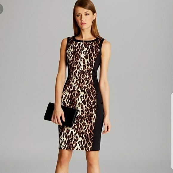 32d5dcb11524 Karen Millen Dresses | Leopard Print Shift Dress | Poshmark